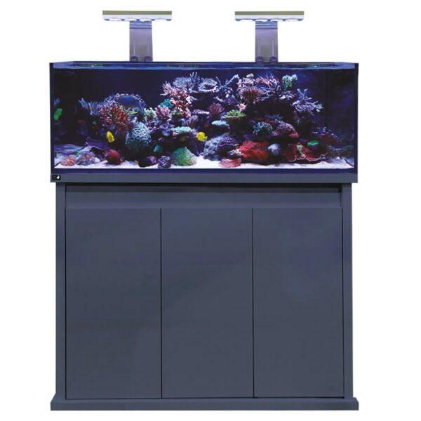 D-D Reef Pro 1200 – Gloss Anthracite Aquarium