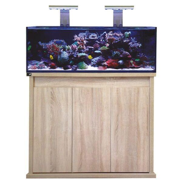 D-D REEF Pro 1200 – Platinum Oak Aquarium