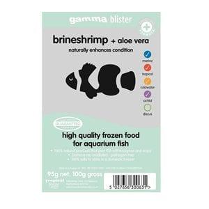 Gamma Brineshrimp & Aloe Vera