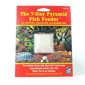 7 day holiday food fish feeder