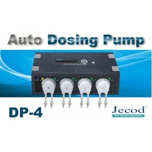 Jecod Auto Dosing Pump DP-4 available at Marine Fish Shop