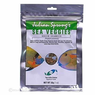 Julian Sprung's Sea Veggies Green Seaweed 30g (1 oz)
