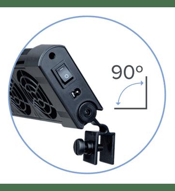 D-D Ocean Breeze Cooling Fan – 4 Fan Equipment