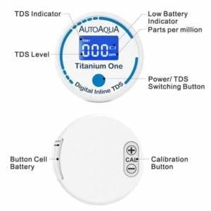 Autoaqua Titanium One TDS Meter