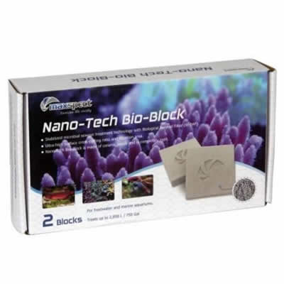 Maxspect Nano-Tech Bio-Block (Pack of 2) Filter Media