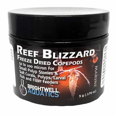 Brightwell Reef Blizzard Freeze Dried Copepods Coral Food