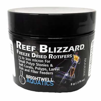 Brightwell Reef Blizzard Freeze Dried Rotifers Coral Food