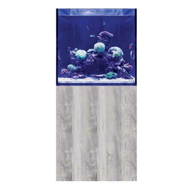 D-D Aqua-Pro Reef Cube 600 - Drift Wood Concrete Aquarium