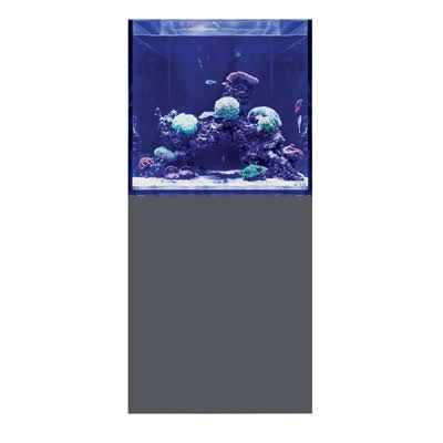 D-D Aqua-Pro Reef Cube 600 - Matt Anthracite Aquarium