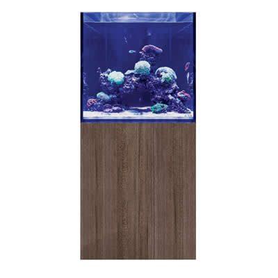 D-D Aqua-Pro Reef Cube 600 – Ultra Gloss Japanese Pear Aquarium