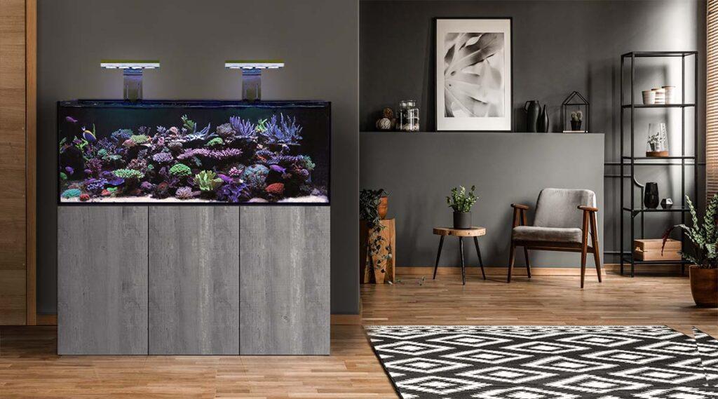 D-D Aqua-Pro Reef 1200 – Matt Anthracite – AquaFrame Cabinet Aquariums